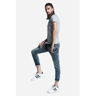 Men Straight Zipper Fly Jeans PantsMens Pants<br>Men Straight Zipper Fly Jeans Pants<br><br>Material: Cotton, Spandex<br>Package Contents: 1 x Pants<br>Package size: 30.00 x 35.00 x 2.00 cm / 11.81 x 13.78 x 0.79 inches<br>Package weight: 0.5200 kg<br>Product weight: 0.4800 kg