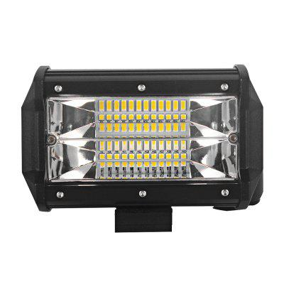DY93 - 72W Flood 7200LM LED Light BarCar Lights<br>DY93 - 72W Flood 7200LM LED Light Bar<br><br>Apply lamp position : External Lights<br>Apply To Car Brand: Universal<br>Color temperatures: 6000K<br>Connector: No<br>Emitting color: White<br>Lumens: 7200LM<br>Package Contents: 1 x LED Light<br>Package size (L x W x H): 15.50 x 11.50 x 10.50 cm / 6.1 x 4.53 x 4.13 inches<br>Package weight: 0.5500 kg<br>Product size (L x W x H): 13.10 x 8.00 x 6.50 cm / 5.16 x 3.15 x 2.56 inches<br>Product weight: 0.4600 kg<br>Type: Work Light<br>Type of lamp-house : LED