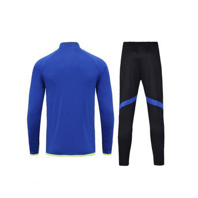 British Fashion Soccer Training Suit Long Sleeve TracksuitWeight Lifting Clothes<br>British Fashion Soccer Training Suit Long Sleeve Tracksuit<br><br>Features: Breathable<br>Gender: Unisex<br>Material: Polyester<br>Package Content: 1 x Long Sleeve Tracksuit, 1 x Package Bag<br>Package size: 35.00 x 25.00 x 2.00 cm / 13.78 x 9.84 x 0.79 inches<br>Package weight: 0.6600 kg<br>Product weight: 0.6000 kg<br>Types: Long Sleeves