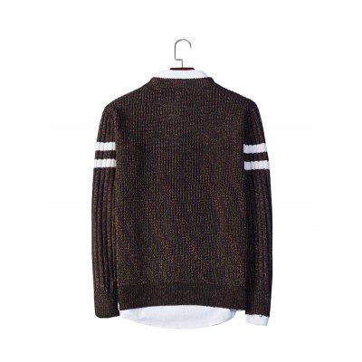Casual Round Collar Long Sleeve SweaterMens Sweaters &amp; Cardigans<br>Casual Round Collar Long Sleeve Sweater<br><br>Material: Acrylic, Polyester<br>Package Contents: 1 x Sweater<br>Package size: 20.00 x 20.00 x 2.00 cm / 7.87 x 7.87 x 0.79 inches<br>Package weight: 0.4400 kg<br>Product weight: 0.4000 kg