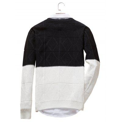 Simple Crew Collar Long Sleeve SweaterMens Sweaters &amp; Cardigans<br>Simple Crew Collar Long Sleeve Sweater<br><br>Material: Acrylic, Polyester<br>Package Contents: 1 x Sweater<br>Package size: 20.00 x 20.00 x 2.00 cm / 7.87 x 7.87 x 0.79 inches<br>Package weight: 0.4400 kg<br>Product weight: 0.4000 kg