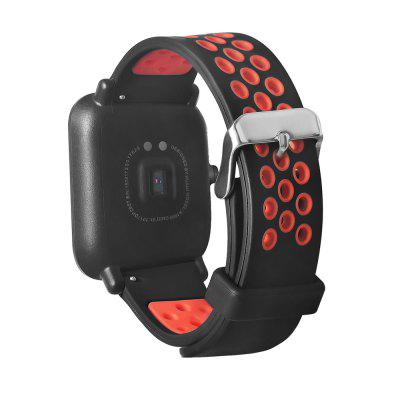 20mm TPE Wristband for Xiaomi Huami AmazfitSmart Watch Accessories<br>20mm TPE Wristband for Xiaomi Huami Amazfit<br><br>Package Contents: 1 x Wristband<br>Package size: 17.00 x 9.50 x 1.30 cm / 6.69 x 3.74 x 0.51 inches<br>Package weight: 0.0280 kg<br>Product size: 20.50 x 2.00 x 0.20 cm / 8.07 x 0.79 x 0.08 inches<br>Product weight: 0.0160 kg