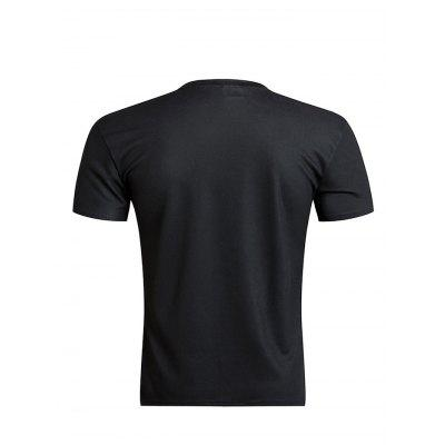 3D Printed Short Sleeve T-shirt for MenMens Short Sleeve Tees<br>3D Printed Short Sleeve T-shirt for Men<br><br>Neckline: Round Neck<br>Package Content: 1 x T-shirt<br>Package size: 35.00 x 25.00 x 2.00 cm / 13.78 x 9.84 x 0.79 inches<br>Package weight: 0.2300 kg<br>Product weight: 0.1600 kg<br>Season: Summer<br>Sleeve Length: Short Sleeves