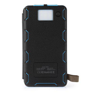 PANIZHE D4003 Mobile Power BankPower Banks<br>PANIZHE D4003 Mobile Power Bank<br><br>Battery Type: Li-Polymer Battery<br>Brand: PANIZHE<br>Capacity (mAh): 8000mAh<br>Capacity Range: 7500-10000mAh<br>Connection Type: Two USB Output Interface<br>Input: 5V 2A<br>Material: Silicone, Silicon, PU Leather, ABS<br>Model: D4003<br>Output: 5V 1A, 5V 2.1A<br>Package Contents: 1 x Solar Power Bank, 1 x USB Cable, 1 x English Manual<br>Package size (L x W x H): 22.00 x 13.50 x 4.00 cm / 8.66 x 5.31 x 1.57 inches<br>Package weight: 0.5400 kg<br>Product size (L x W x H): 15.60 x 8.40 x 2.50 cm / 6.14 x 3.31 x 0.98 inches<br>Product weight: 0.3900 kg<br>Type: Solar Chargers