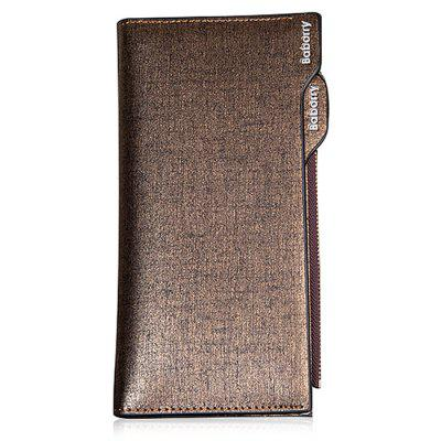 Fashion PU Long Wallet with ZipperWallets<br>Fashion PU Long Wallet with Zipper<br><br>Features: Wearable<br>Gender: Men<br>Material: PU<br>Package Size(L x W x H): 20.50 x 11.50 x 2.50 cm / 8.07 x 4.53 x 0.98 inches<br>Package weight: 0.1600 kg<br>Packing List: 1 x Wallet<br>Product Size(L x W x H): 19.50 x 10.50 x 1.50 cm / 7.68 x 4.13 x 0.59 inches<br>Product weight: 0.1200 kg<br>Style: Casual, Fashion<br>Type: Wallet
