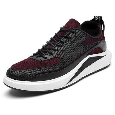 Male 3D Printing Slip Resistance Lace Up Outdoor SneakersMen's Sneakers<br>Male 3D Printing Slip Resistance Lace Up Outdoor Sneakers<br><br>Closure Type: Lace-Up<br>Contents: 1 x Pair of Shoes<br>Decoration: Weave<br>Function: Slip Resistant<br>Materials: Rubber, Microfiber<br>Occasion: Casual, Outdoor Clothing, Running, Sports<br>Outsole Material: Rubber<br>Package Size ( L x W x H ): 33.00 x 24.00 x 13.00 cm / 12.99 x 9.45 x 5.12 inches<br>Package Weights: 0.82kg<br>Seasons: Autumn,Spring<br>Style: Modern, Leisure, Fashion, Comfortable, Casual<br>Toe Shape: Round Toe<br>Type: Sports Shoes<br>Upper Material: Microfiber
