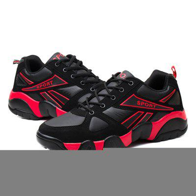 Male Breathable Slip Resistance Wearable Sports ShoesMen's Sneakers<br>Male Breathable Slip Resistance Wearable Sports Shoes<br><br>Closure Type: Lace-Up, Lace-Up<br>Contents: 1 x Pair of Shoes, 1 x Pair of Shoes<br>Decoration: Split Joint, Split Joint<br>Function: Slip Resistant, Slip Resistant<br>Materials: Cotton, Rubber, PU, Cotton, Rubber, PU<br>Occasion: Casual, Sports, Outdoor Clothing, Casual, Running, Sports, Running, Outdoor Clothing<br>Outsole Material: Rubber, Rubber<br>Package Size ( L x W x H ): 31.00 x 21.00 x 11.00 cm / 12.2 x 8.27 x 4.33 inches, 31.00 x 21.00 x 11.00 cm / 12.2 x 8.27 x 4.33 inches<br>Package Weights: 0.79kg, 0.79kg<br>Seasons: Autumn,Spring, Autumn,Spring<br>Style: Modern, Comfortable, Casual, Fashion, Leisure, Casual, Comfortable, Fashion, Leisure, Modern<br>Toe Shape: Round Toe, Round Toe<br>Type: Sports Shoes<br>Upper Material: PU, PU