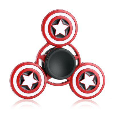 Star Pattern Alloy ADHD EDC Fidget Tri-spinnerFidget Spinners<br>Star Pattern Alloy ADHD EDC Fidget Tri-spinner<br><br>Center Bearing Material: Stainless Steel<br>Frame material: Alloy<br>Package Contents: 1 x Fidget Spinner<br>Package size (L x W x H): 9.00 x 11.00 x 1.50 cm / 3.54 x 4.33 x 0.59 inches<br>Package weight: 0.0790 kg<br>Product size (L x W x H): 6.00 x 6.00 x 1.20 cm / 2.36 x 2.36 x 0.47 inches<br>Product weight: 0.0480 kg<br>Swing Numbers: Tri-Bar<br>Type: Triple Blade, Cool