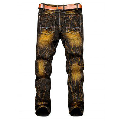 Stylish Ripped Slim Straight JeansMens Pants<br>Stylish Ripped Slim Straight Jeans<br><br>Material: Cotton<br>Package Contents: 1 x Men Pants<br>Package size: 35.00 x 25.00 x 2.00 cm / 13.78 x 9.84 x 0.79 inches<br>Package weight: 0.7300 kg<br>Product weight: 0.6600 kg