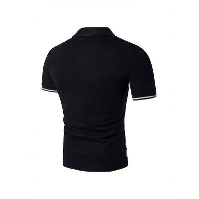 Simple Classic Polo ShirtMens Short Sleeve Tees<br>Simple Classic Polo Shirt<br><br>Fabric Type: Cotton, Polyester<br>Material: Cotton, Polyester<br>Neckline: Turn-down Collar<br>Package Content: 1 x Polo Shirt<br>Package size: 35.00 x 25.00 x 2.00 cm / 13.78 x 9.84 x 0.79 inches<br>Package weight: 0.2700 kg<br>Product weight: 0.2300 kg<br>Season: Summer<br>Sleeve Length: Short Sleeves<br>Style: Sport, Casual