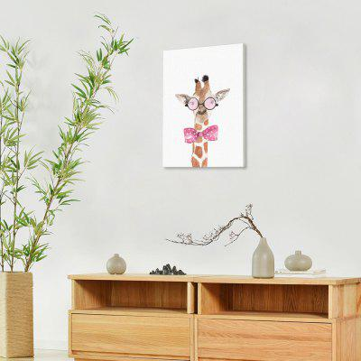 Modern Print Deer Wall Decor for Home DecorationPrints<br>Modern Print Deer Wall Decor for Home Decoration<br><br>Craft: Print<br>Form: One Panel<br>Material: Canvas<br>Package size (L x W x H): 32.00 x 6.00 x 6.00 cm / 12.6 x 2.36 x 2.36 inches<br>Package weight: 0.1000 kg<br>Painting: Without Inner Frame<br>Product size (L x W x H): 30.00 x 40.00 x 0.10 cm / 11.81 x 15.75 x 0.04 inches<br>Product weight: 0.0400 kg<br>Shape: Horizontal<br>Style: Modern<br>Subjects: Animal<br>Suitable Space: Bedroom,Dining Room,Hotel,Living Room