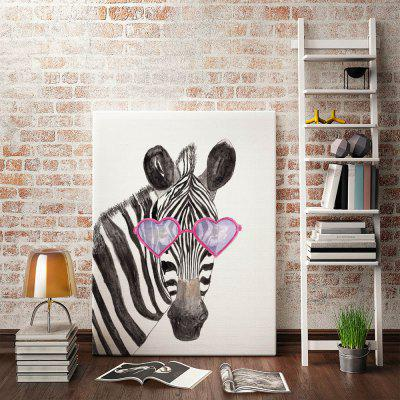 Modern Print Zebra Head Wall Decor for Home DecorationPrints<br>Modern Print Zebra Head Wall Decor for Home Decoration<br><br>Craft: Print<br>Form: One Panel<br>Material: Canvas<br>Package size (L x W x H): 32.00 x 6.00 x 6.00 cm / 12.6 x 2.36 x 2.36 inches<br>Package weight: 0.1000 kg<br>Painting: Without Inner Frame<br>Product size (L x W x H): 30.00 x 40.00 x 0.10 cm / 11.81 x 15.75 x 0.04 inches<br>Product weight: 0.0400 kg<br>Shape: Horizontal<br>Style: Modern<br>Subjects: Animal<br>Suitable Space: Bedroom,Dining Room,Hotel,Living Room