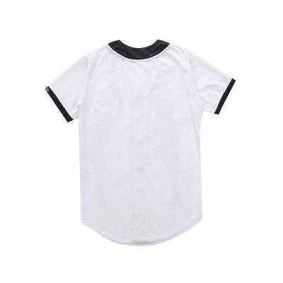 Fashionable 3D Printed T-shirtMens Short Sleeve Tees<br>Fashionable 3D Printed T-shirt<br><br>Fabric Type: Polyester<br>Material: Polyester<br>Neckline: U Neck<br>Package Content: 1 x T-shirt<br>Package size: 35.00 x 25.00 x 2.00 cm / 13.78 x 9.84 x 0.79 inches<br>Package weight: 0.4500 kg<br>Product weight: 0.4000 kg<br>Season: Summer<br>Sleeve Length: Short Sleeves<br>Style: Fashion, Casual