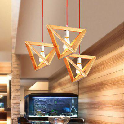 E27 Creative Modern Geometrical Pendant Light 220V