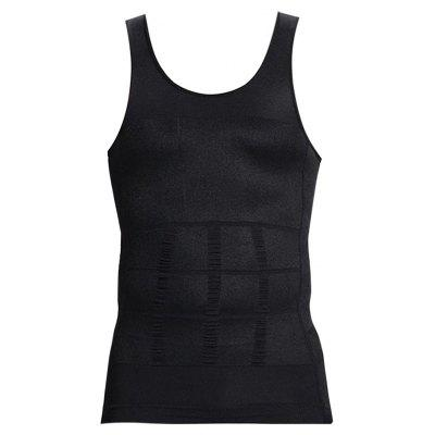 Body Shaped Slim Male Vest