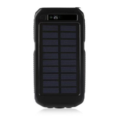 PANIZHE D5000 Solar Energy Power Bank 10000mAh Two-way Fast Charge