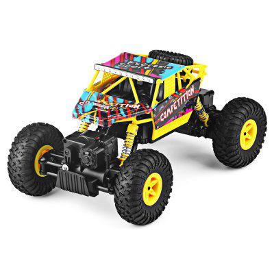 WLtoys 18428 - C 1:18 2.4GHz Off-road RC Car - RTRRC Cars<br>WLtoys 18428 - C 1:18 2.4GHz Off-road RC Car - RTR<br><br>Age: Above 8 years old<br>Battery Information: 6.4V 320mAh LiCo<br>Brand: WLtoys<br>Car Power: Built-in rechargeable battery<br>Control Distance: 80-100m<br>Detailed Control Distance: 80~100m<br>Drive Type: 4 WD<br>Features: Radio Control<br>Material: Electronic Components, ABS, PP, POM<br>Motor Type: Brushed Motor<br>Package Contents: 1 x RC Car ( Battery Included ), 1 x Transmitter, 1 x USB Cable, 1 x Screwdriver Set, 1 x English Manual, 1 x RC Car ( Battery Included ), 1 x Transmitter, 1 x USB Cable, 1 x Screwdriver Set, 1 x English Manual<br>Package size (L x W x H): 40.50 x 20.50 x 21.50 cm / 15.94 x 8.07 x 8.46 inches, 40.50 x 20.50 x 21.50 cm / 15.94 x 8.07 x 8.46 inches<br>Package weight: 1.4700 kg, 1.4700 kg<br>Product size (L x W x H): 27.00 x 16.50 x 13.00 cm / 10.63 x 6.5 x 5.12 inches, 27.00 x 16.50 x 13.00 cm / 10.63 x 6.5 x 5.12 inches<br>Product weight: 0.5120 kg<br>Proportion: 1:18<br>Racing Time: About 15mins<br>Remote Control: 2.4GHz Wireless Remote Control<br>Transmitter Power: 4 x 1.5V AA (not included)<br>Type: Off-Road Car