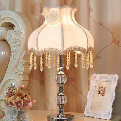 E27 Modern Country Style Bedside Table Lamp 220V