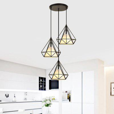 BRELONG Nordic Retro Iron Art LED Pendant LightPendant Light<br>BRELONG Nordic Retro Iron Art LED Pendant Light<br><br>Battery Included: No<br>Brand: BRELONG<br>Bulb Base: E27<br>Bulb Included: Yes<br>Chain / Cord Adjustable or Not: Chain / Cord Adjustable<br>Chain / Cord Length ( CM ): 100cm<br>Features: Designers<br>Fixture Height ( CM ): 25cm<br>Fixture Length ( CM ): 25cm<br>Fixture Width ( CM ): 25cm<br>Light Direction: Downlight<br>Light Source Color: Warm White<br>Number of Bulb: 3 Bulbs<br>Number of Bulb Sockets: 3<br>Package Contents: 1 x LED Pendant Light<br>Package size (L x W x H): 68.00 x 26.00 x 26.00 cm / 26.77 x 10.24 x 10.24 inches<br>Package weight: 3.2300 kg<br>Product weight: 2.8000 kg<br>Shade Material: Iron, Cloth<br>Style: Modern/Contemporary<br>Suggested Room Size: 0 - 5?<br>Suggested Space Fit: Bathroom,Cafes,Dining Room,Living Room<br>Type: Pendant Light<br>Voltage ( V ): AC220 - 240