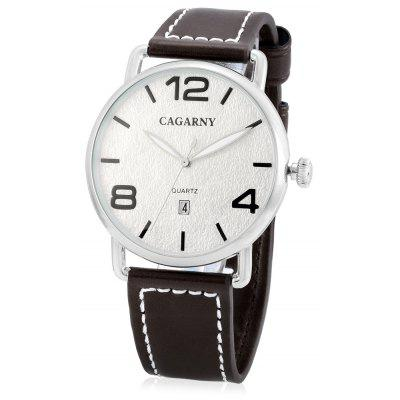 CAGARNY 6815 Concise Quartz Men Watch