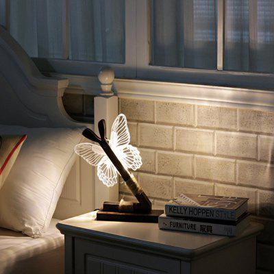 Butterfly Shape LED Night Light Bedside Lamp 220VNight Lights<br>Butterfly Shape LED Night Light Bedside Lamp 220V<br><br>Input Voltage: AC220<br>Luminance: 100<br>Material: Acrylic<br>Numbers of LED: 1<br>Optional Light Color: Warm White<br>Package Contents: 1 x Night Lamp, 1 x Charge Cable, 1 x English User Manual<br>Package size (L x W x H): 30.00 x 25.00 x 25.00 cm / 11.81 x 9.84 x 9.84 inches<br>Package weight: 0.8700 kg<br>Plug: CN Plug<br>Power: 0.5W<br>Power Supply: AC Power<br>Product size (L x W x H): 27.30 x 21.50 x 21.40 cm / 10.75 x 8.46 x 8.43 inches<br>Product weight: 0.8000 kg<br>Type: Night Light
