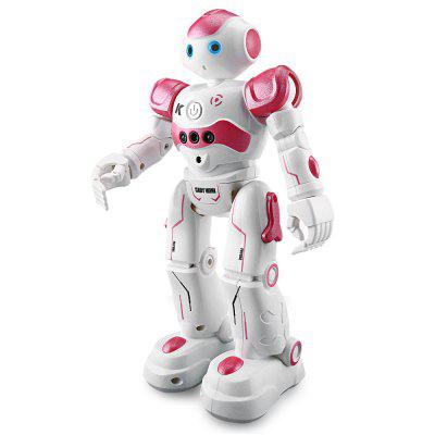 JJRC R2 CADY WINI Intelligent RC Robot - RTRRC Robot<br>JJRC R2 CADY WINI Intelligent RC Robot - RTR<br><br>Age: Above 8 years old, Above 8 years old<br>Brand: JJRC<br>Charging Time: 1.5 Hours, 1.5 Hours<br>Features: IR Remote Control<br>Functions: Turn left/right, Programming, Patrol, With music, Obstacle Avoidance, Gesture Control, With light, Forward/backward, Dance, Auto Demonstration<br>Material: Electronic Components, Electronic Components, ABS/PS, ABS/PS<br>Model Power: Built-in rechargeable battery, Built-in rechargeable battery<br>Night Playing: Yes, Yes<br>Operation Time: 1 hour, 1 hour<br>Package Contents: 1 x RC Robot ( Battery Included ), 1 x IR Transmitter, 1 x USB Cable, 1 x English Manual, 1 x RC Robot ( Battery Included ), 1 x IR Transmitter, 1 x USB Cable, 1 x English Manual<br>Package size (L x W x H): 29.50 x 17.80 x 11.50 cm / 11.61 x 7.01 x 4.53 inches, 29.50 x 17.80 x 11.50 cm / 11.61 x 7.01 x 4.53 inches<br>Package weight: 0.8300 kg, 0.8300 kg<br>Product size (L x W x H): 16.00 x 8.00 x 26.50 cm / 6.3 x 3.15 x 10.43 inches, 16.00 x 8.00 x 26.50 cm / 6.3 x 3.15 x 10.43 inches<br>Product weight: 0.3477 kg, 0.3477 kg<br>Remote Control: IR Remote Control, IR Remote Control<br>Transmitter Power: 2 x 1.5V AA battery(not included), 2 x 1.5V AA battery(not included)