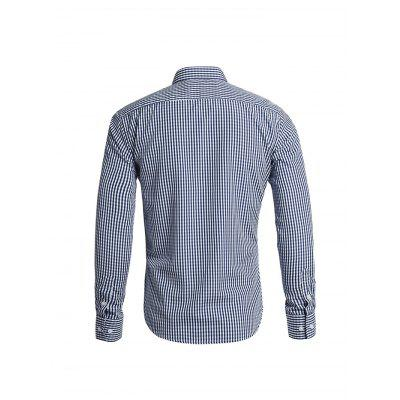 Male Small-Scale Gingham Long Sleeve ShirtMens Shirts<br>Male Small-Scale Gingham Long Sleeve Shirt<br><br>Package Contents: 1 x Shirt<br>Package size: 35.00 x 25.00 x 2.00 cm / 13.78 x 9.84 x 0.79 inches<br>Package weight: 0.2850 kg<br>Product weight: 0.2500 kg