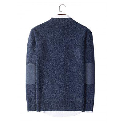 Fashion Round Collar Long Sleeve SweaterMens Sweaters &amp; Cardigans<br>Fashion Round Collar Long Sleeve Sweater<br><br>Material: Acrylic, Polyester<br>Package Contents: 1 x Sweater<br>Package size: 20.00 x 20.00 x 2.00 cm / 7.87 x 7.87 x 0.79 inches<br>Package weight: 0.4400 kg<br>Product weight: 0.4000 kg