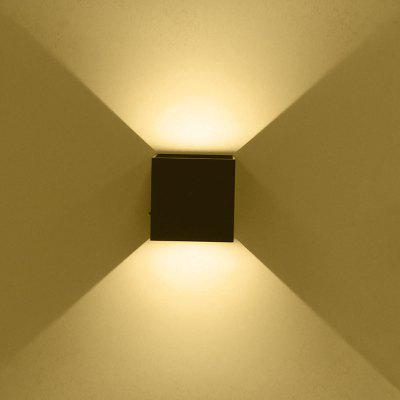 JIAWEN 3W COB LED Square Wall Lamp 85 - 265V