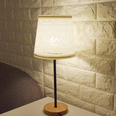 E27 Simple Elegant Bordeaux Style Table Lamp 220V
