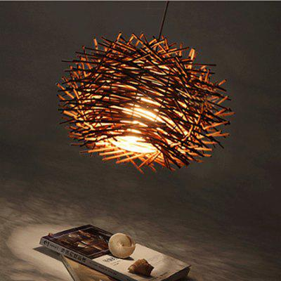 Rattan Craft Pendant Light for Living Room Restaurant 220VPendant Light<br>Rattan Craft Pendant Light for Living Room Restaurant 220V<br><br>Battery Included: No<br>Bulb Base: E27<br>Bulb Included: No<br>Certifications: 3C<br>Chain / Cord Adjustable or Not: Chain / Cord Adjustable<br>Chain / Cord Length ( CM ): 100<br>Features: Designers<br>Fixture Height ( CM ): 30<br>Fixture Length ( CM ): 50<br>Fixture Width ( CM ): 50<br>Light Direction: Downlight<br>Number of Bulb: 1 Bulb<br>Number of Bulb Sockets: 1<br>Package Contents: 1 x Light, 1 x Set of Installation Accessory<br>Package size (L x W x H): 60.00 x 60.00 x 35.00 cm / 23.62 x 23.62 x 13.78 inches<br>Package weight: 2.5200 kg<br>Product weight: 2.0000 kg<br>Shade Material: Bamboo Rattan<br>Style: Country<br>Suggested Room Size: 0 - 5?<br>Suggested Space Fit: Bathroom,Bedroom,Cafes,Dining Room,Living Room<br>Type: Pendant Light<br>Voltage ( V ): 220V