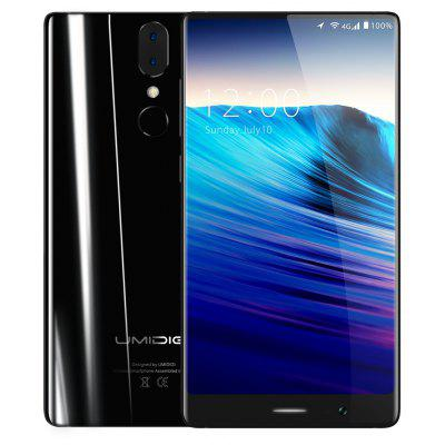 Buy UMIDIGI Crystal 4G Phablet 2GB RAM Version, BLACK, Mobile Phones, Cell phones for $110.66 in GearBest store