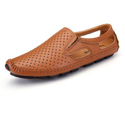 Male Casual Hollow Slip On Oxford Boat Doug Shoes