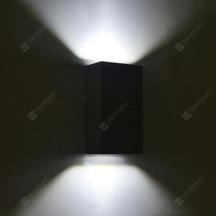 BLACK JIAWEN BD 10W 003 LED Rectangle Double Sides Wall Light