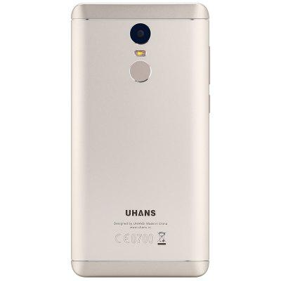 UHANS Note 4 4G PhabletCell phones<br>UHANS Note 4 4G Phablet<br><br>2G: GSM 1800MHz,GSM 1900MHz,GSM 850MHz,GSM 900MHz<br>3G: WCDMA B1 2100MHz,WCDMA B8 900MHz<br>4G LTE: FDD B1 2100MHz,FDD B20 800MHz,FDD B3 1800MHz,FDD B7 2600MHz,FDD B8 900MHz<br>Additional Features: 3G, 4G, Alarm, Bluetooth, Browser, Calculator, Fingerprint recognition, Fingerprint Unlocking, MP3, MP4, WiFi<br>Back-camera: 13.0MP<br>Battery Capacity (mAh): 4000mAh<br>Battery Type: Non-removable<br>Bluetooth Version: V4.0<br>Brand: UHANS<br>Camera type: Dual cameras (one front one back)<br>Cell Phone: 1<br>Cores: 1.3GHz, Quad Core<br>CPU: MTK6737<br>External Memory: TF card up to 128GB (not included)<br>Front camera: 5.0MP<br>Google Play Store: Yes<br>GPU: Mali-T720<br>I/O Interface: 1 x Micro SIM Card Slot, Speaker, Micro USB Slot, 1 x Nano SIM Card Slot, Micophone<br>Language: Multi language<br>Music format: WMA, AMR, AAC, 3GP, MP3, M4A, OGG, WAV, MKA<br>Network type: FDD-LTE,GSM,WCDMA<br>OS: Android 7.0<br>Package size: 17.90 x 10.20 x 5.30 cm / 7.05 x 4.02 x 2.09 inches<br>Package weight: 0.4000 kg<br>Picture format: JPEG, GIF, BMP, JPG, PNG<br>Power Adapter: 1<br>Product size: 15.27 x 7.67 x 0.99 cm / 6.01 x 3.02 x 0.39 inches<br>Product weight: 0.1920 kg<br>RAM: 3GB RAM<br>ROM: 32GB<br>Screen Protector: 1<br>Screen resolution: 1280 x 720 (HD 720)<br>Screen size: 5.5 inch<br>Screen type: IPS<br>Sensor: Ambient Light Sensor,Gravity Sensor,Proximity Sensor<br>Service Provider: Unlocked<br>Silicone Case: 1<br>SIM Card Slot: Dual SIM, Dual Standby<br>SIM Card Type: Nano SIM Card, Micro SIM Card<br>Type: 4G Phablet<br>USB Cable: 1<br>Video format: MP4, F4V, AVI, 3GP, MPEG4, WMV<br>Video recording: Yes<br>WIFI: 802.11b/g/n wireless internet<br>Wireless Connectivity: 3G, 4G, WiFi, GPS, Bluetooth