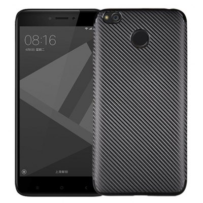 Luanke Carbon Fiber TPU Soft Case Cover