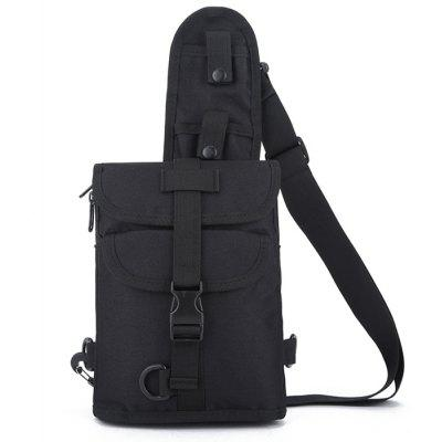 Men Outdoor Fashion Nylon Chest Bag