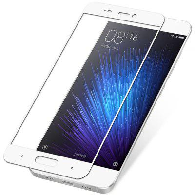 ASLING Tempered Glass Full Cover Screen Film for Xiaomi Mi 5Screen Protectors<br>ASLING Tempered Glass Full Cover Screen Film for Xiaomi Mi 5<br><br>Brand: ASLING<br>Compatible Model: Mi 5<br>Features: Ultra thin, High-definition, High Transparency, High sensitivity, Anti-oil, Anti scratch, Anti fingerprint<br>Mainly Compatible with: Xiaomi<br>Material: Tempered Glass<br>Package Contents: 1 x Screen Film, 1 x Dust-absorber, 1 x Alcohol Prep Pad, 1 x Cloth<br>Package size (L x W x H): 19.70 x 12.40 x 2.00 cm / 7.76 x 4.88 x 0.79 inches<br>Package weight: 0.0900 kg<br>Product weight: 0.0100 kg<br>Surface Hardness: 9H<br>Thickness: 0.26mm<br>Type: Screen Protector