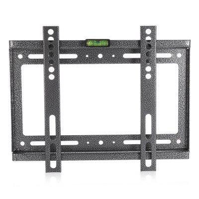 Universal TV Wall Mount Bracket for 14 - 42 inch Flat PanelTV Wall Mount<br>Universal TV Wall Mount Bracket for 14 - 42 inch Flat Panel<br><br>Color: Black<br>Material: Stainless Steel<br>Package Contents: 1 x Wall Mount Bracket, 1 x Screw Pack<br>Package size (L x W x H): 31.00 x 25.00 x 5.00 cm / 12.2 x 9.84 x 1.97 inches<br>Package weight: 0.6350 kg<br>Product size (L x W x H): 29.00 x 20.00 x 2.00 cm / 11.42 x 7.87 x 0.79 inches<br>Product weight: 0.4070 kg