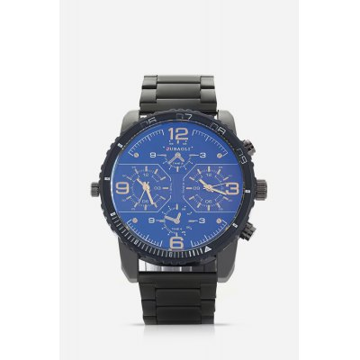 Dual Movt Fashionable Cool Fine Steel Band Men WatchMens Watches<br>Dual Movt Fashionable Cool Fine Steel Band Men Watch<br><br>Band material: Fine steel<br>Band size: 18 x 2.4cm<br>Case material: Alloy<br>Clasp type: Sheet folding clasp<br>Dial size: 5 x 5 x 1.2cm<br>Display type: Analog<br>Movement type: Quartz watch<br>Package Contents: 1 x Watch, 1 x Box<br>Package size (L x W x H): 8.50 x 8.00 x 5.30 cm / 3.35 x 3.15 x 2.09 inches<br>Package weight: 0.2000 kg<br>Product weight: 0.1450 kg<br>Shape of the dial: Round<br>Watch mirror: Acrylic<br>Watch style: Retro, Fashion<br>Watches categories: Men