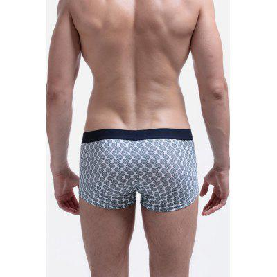 Men Casual Cotton Boxer BriefMens Underwear &amp; Pajamas<br>Men Casual Cotton Boxer Brief<br><br>Material: Cotton<br>Package Contents: 1 x Men Boxers<br>Package size: 20.00 x 20.00 x 2.00 cm / 7.87 x 7.87 x 0.79 inches<br>Package weight: 0.1200 kg<br>Product weight: 0.0800 kg
