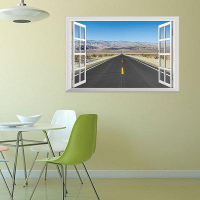 3D Decorative Plateau Highway Scenery Wall StickerWall Stickers<br>3D Decorative Plateau Highway Scenery Wall Sticker<br><br>Functions: Decorative Wall Stickers<br>Hang In/Stick On: Bedrooms,Hotels,Living Rooms<br>Material: Vinyl(PVC)<br>Package Contents: 1 x Wall Sticker<br>Package size (L x W x H): 48.50 x 4.00 x 4.00 cm / 19.09 x 1.57 x 1.57 inches<br>Package weight: 0.1900 kg<br>Product weight: 0.1100 kg<br>Subjects: Landscape
