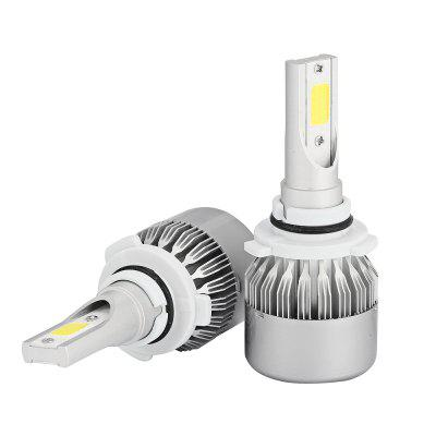 2pcs C6 9006 HB4 Silver COB LED Car Headlight BulbCar Lights<br>2pcs C6 9006 HB4 Silver COB LED Car Headlight Bulb<br><br>Adaptable automobile mode: Universal<br>Connector: 9006<br>Lumens: 7600LM / set ( 3800LM / bulb )<br>Package Contents: 2 x LED Headlight<br>Package size (L x W x H): 18.00 x 12.00 x 5.00 cm / 7.09 x 4.72 x 1.97 inches<br>Package weight: 0.2420 kg<br>Product size (L x W x H): 8.00 x 3.30 x 1.30 cm / 3.15 x 1.3 x 0.51 inches<br>Product weight: 0.1270 kg