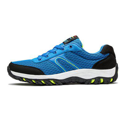 Male Breathable Lace Up Light Mesh Running SneakersMen's Sneakers<br>Male Breathable Lace Up Light Mesh Running Sneakers<br><br>Closure Type: Lace-Up<br>Contents: 1 x Pair of Shoes<br>Materials: TPR, Mesh<br>Occasion: Sports, Outdoor Clothing, Holiday, Daily, Casual, Running<br>Outsole Material: TPR<br>Package Size ( L x W x H ): 33.00 x 22.00 x 11.00 cm / 12.99 x 8.66 x 4.33 inches<br>Package Weights: 0.92kg<br>Seasons: Autumn,Spring<br>Style: Modern, Leisure, Fashion, Comfortable, Casual<br>Toe Shape: Round Toe<br>Type: Sports Shoes<br>Upper Material: Mesh