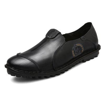 Male Business Casual Soft Flat Slip On Leather ShoesMen's Oxford<br>Male Business Casual Soft Flat Slip On Leather Shoes<br><br>Closure Type: Slip-On<br>Contents: 1 x Pair of Shoes<br>Function: Slip Resistant<br>Materials: Rubber, Leather<br>Occasion: Tea Party, Shopping, Office, Holiday, Party, Casual, Daily<br>Outsole Material: Rubber<br>Package Size ( L x W x H ): 33.00 x 22.00 x 11.00 cm / 12.99 x 8.66 x 4.33 inches<br>Package Weights: 0.97kg<br>Pattern Type: Solid, Animal<br>Seasons: Autumn,Spring<br>Style: Modern, Leisure, Fashion, Comfortable, Casual, Business<br>Toe Shape: Round Toe<br>Type: Casual Leather Shoes<br>Upper Material: Leather
