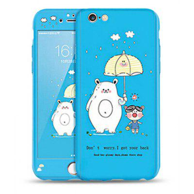 PC Anti-knock Mobile Phone Case for iPhone 6 / 6S
