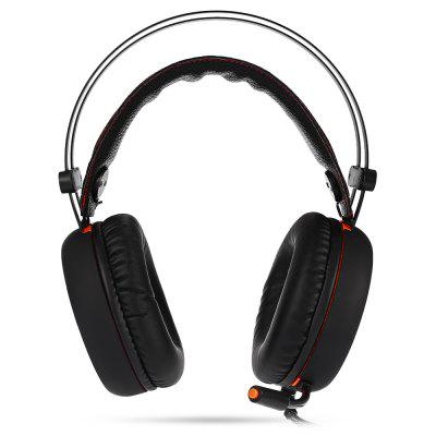 X - 09 ABS Gaming Headphones Metal WiredrawingEarbud Headphones<br>X - 09 ABS Gaming Headphones Metal Wiredrawing<br><br>Application: Running, Sport, Gaming, Working<br>Compatible with: PC, Computer<br>Connectivity: Wired<br>Features: Cool<br>Function: Noise Cancelling, Microphone, Voice control<br>Impedance: 32ohms±15 percent<br>Language: Chinese<br>Material: ABS<br>Model: X - 09<br>Package Contents: 1 x Gaming Headphones<br>Package size (L x W x H): 22.80 x 13.00 x 22.50 cm / 8.98 x 5.12 x 8.86 inches<br>Package weight: 0.4810 kg<br>Product size (L x W x H): 19.00 x 10.00 x 22.00 cm / 7.48 x 3.94 x 8.66 inches<br>Product weight: 0.3390 kg<br>Sensitivity: 95 ± 3 dB<br>Type: Over-ear<br>Wearing type: Headband
