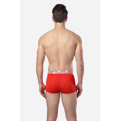 Men Casual Leisure Modal Boxer BriefMens Underwear &amp; Pajamas<br>Men Casual Leisure Modal Boxer Brief<br><br>Material: Cotton, Modal<br>Package Contents: 1 x Men Boxers<br>Package size: 20.00 x 20.00 x 2.00 cm / 7.87 x 7.87 x 0.79 inches<br>Package weight: 0.1000 kg<br>Product weight: 0.0700 kg