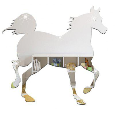 DIY Horse Mirror Effect Painting Sticker