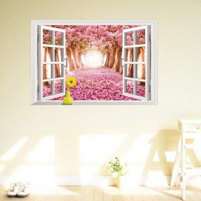 3D Landscape Wall Sticker Home DecorationWall Stickers<br>3D Landscape Wall Sticker Home Decoration<br><br>Function: 3D Effect<br>Material: Self-adhesive Plastic, Vinyl(PVC)<br>Package Contents: 1 x Sticker<br>Package size (L x W x H): 60.00 x 4.00 x 4.00 cm / 23.62 x 1.57 x 1.57 inches<br>Package weight: 0.2500 kg<br>Product size (L x W x H): 90.00 x 60.00 x 0.10 cm / 35.43 x 23.62 x 0.04 inches<br>Product weight: 0.1500 kg<br>Quantity: 1<br>Subjects: 3D<br>Suitable Space: Bedroom,Dining Room,Kids Room,Living Room<br>Type: 3D Wall Sticker